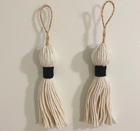 Tassel Ornaments (Set Of 2)