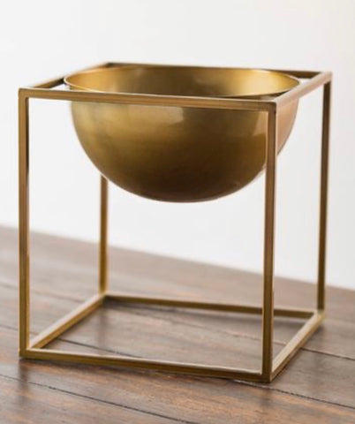 Gold Bowl Planter