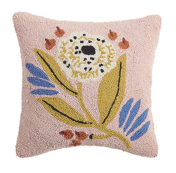 Organic Florals Pillow 16""