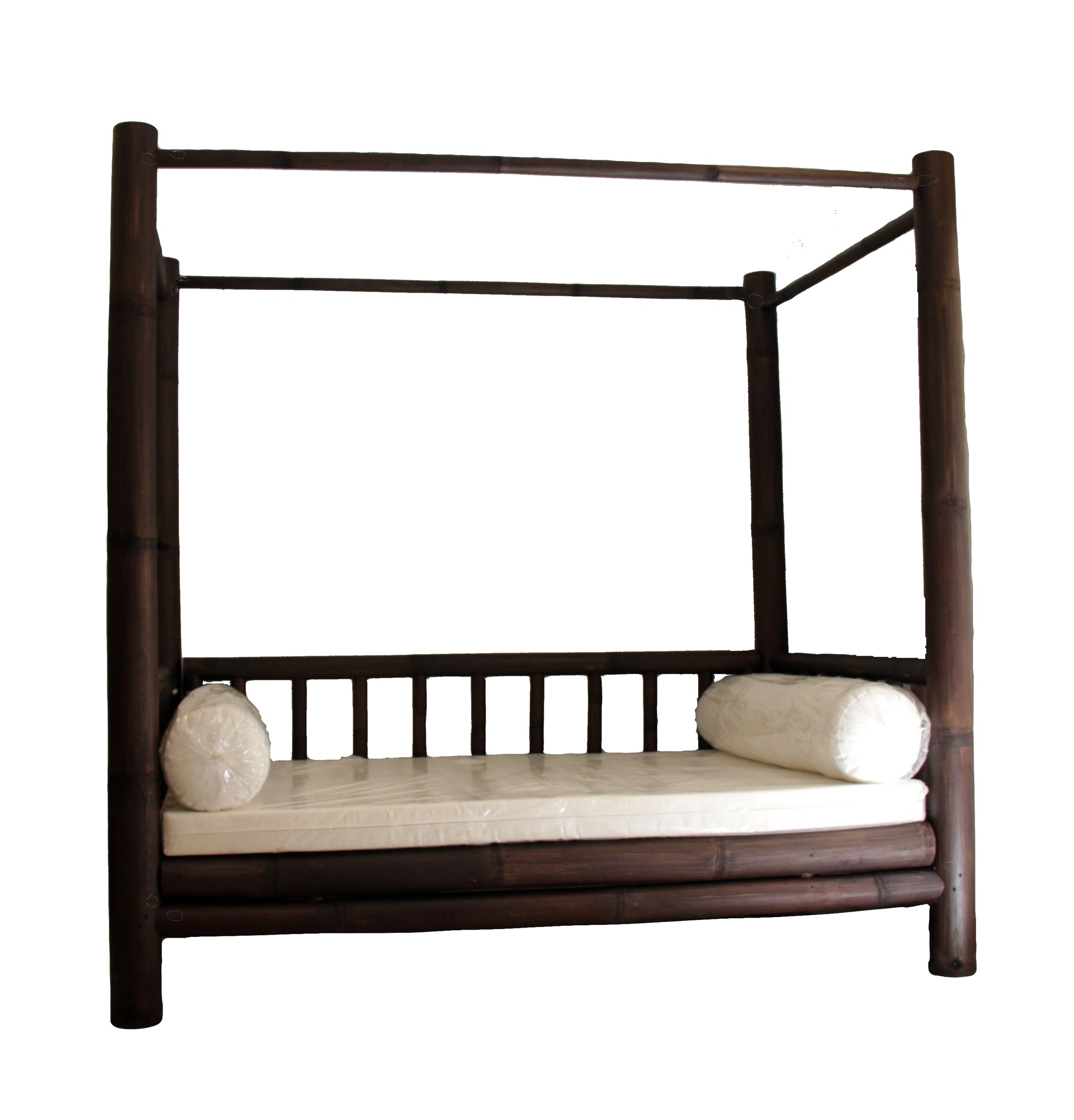Black Bamboo 4 Poster Daybed That Bali Shop Mallorca