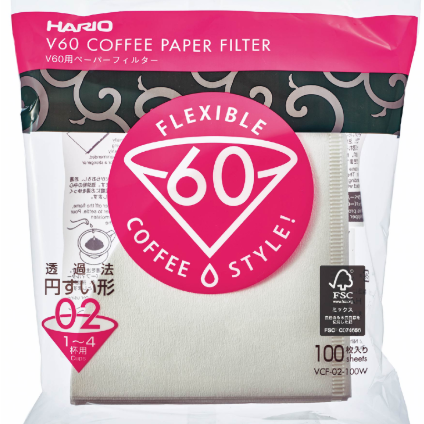 V60 Paper Filters 02 (100 Sheets)