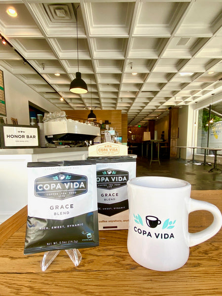 Copa Vida Steeped Single-Serve Coffee Bag