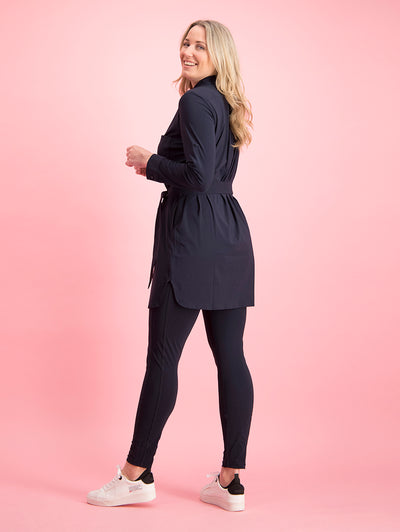 Ellen legging Black bij model