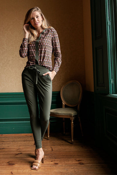 Studio Anneloes Downstairs trousers Green NIEUW. 94735