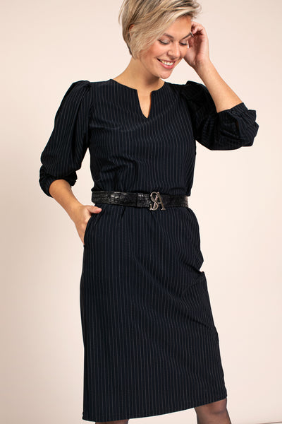Studio Anneloes Flexy pinstripe dress NIEUW. 05307
