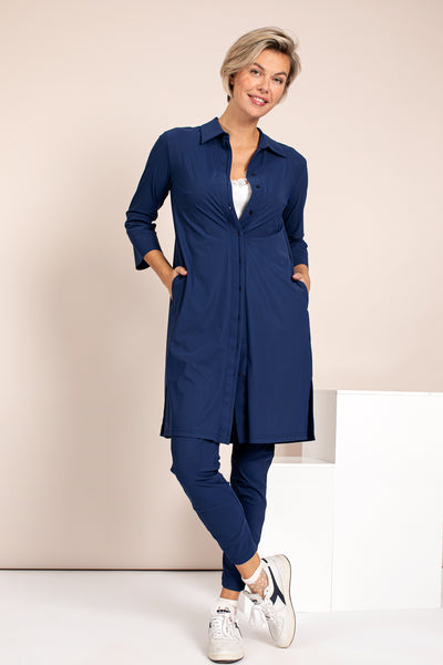 Studio Anneloes Groopy tunic classic blue NIEUW. 05318.