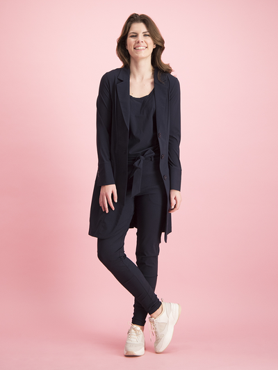 Studio Anneloes Margot trousers dark blue