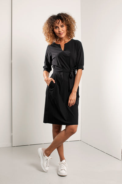 Studio Anneloes Flex dress Dark blue NIEUW