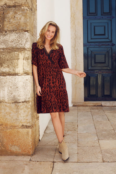 Tramontana-Dress-Wrap-Ikat-Print