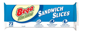 1.5KG *BEGA* CHEESE SLICES(72)