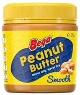 PEANUT BUTTER SMOOTH 375G BEGA