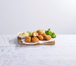 STEGGLES CHICKEN CHEESEBURGER BITES 1KG