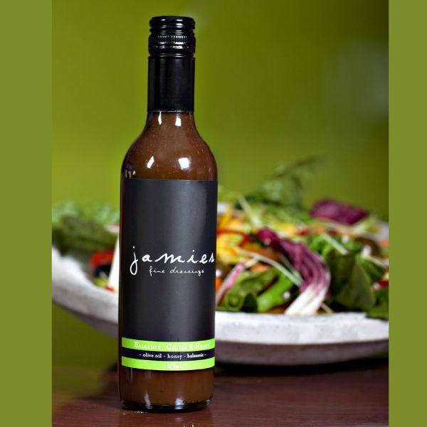 JAMIES FINE DRESSING BALSAMIC CHILLI & HONEY