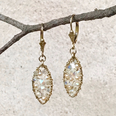 Diamond Dreams — Bloom Collection Earrings