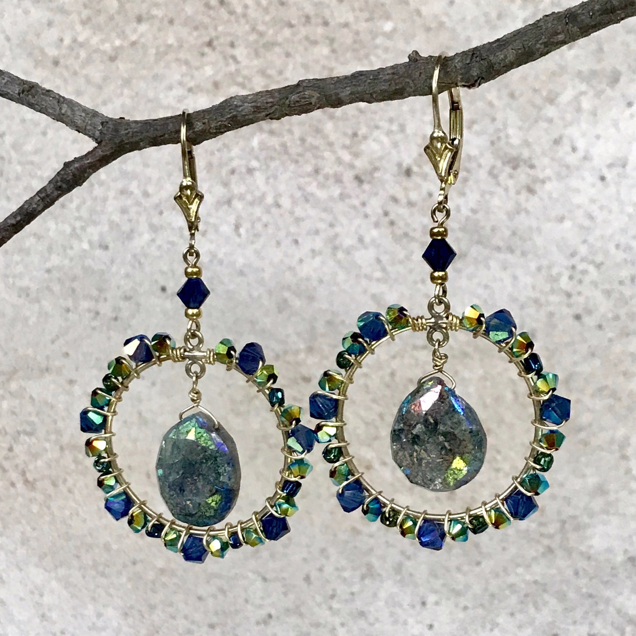 Labradorite Dreams — Bella M Earrings