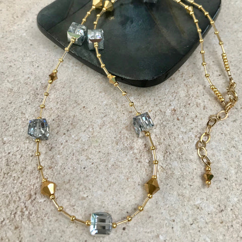 Mix and Mingle Necklace — Silver and Gold