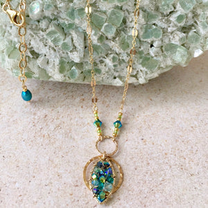 Illuminati  — Turquoise — Bloom Collection Necklace