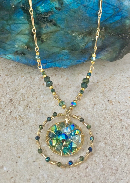 Stardust Necklace — Turquoise — Bloom Collection
