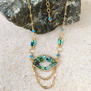 Deja Vu  — Turquoise — Bloom Collection Necklace