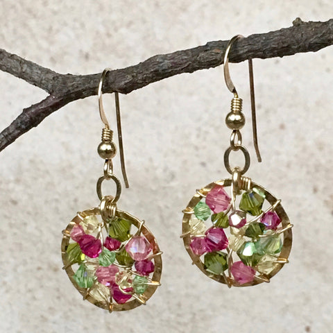 Simple Sophistication Too — Tutti Fruiti — Bloom Collection Earrings