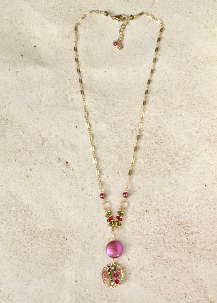 Rise and Shine  — Tutti Fruiti — Bloom Collection Necklace