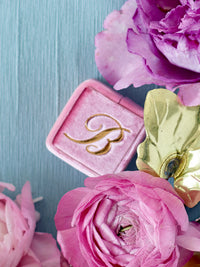 Bright-Pink-Ring-Box-Gold-Monogram
