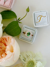Mint-Ring-Box-With-Gold-Monogram