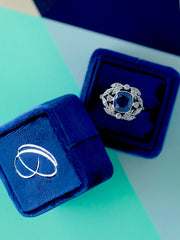 Navy-Blue-Velvet-Ring-Box monogram