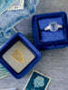 Sapphire-Emerald-Cut-Vintage-Engagement-Ring-with-Navy-Blue-Ring Box