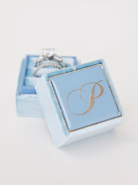 light blue engagement box