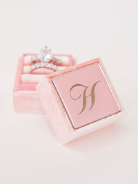 enamel-preview pink velvet ring box