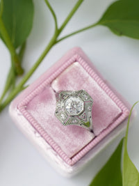 baby pink velvet wedding ring box birthday heirloom