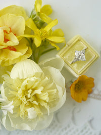 yellow floral wedding gift
