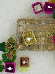 colorful ring box velvet jewelry box