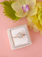 pale blush engagement ring box