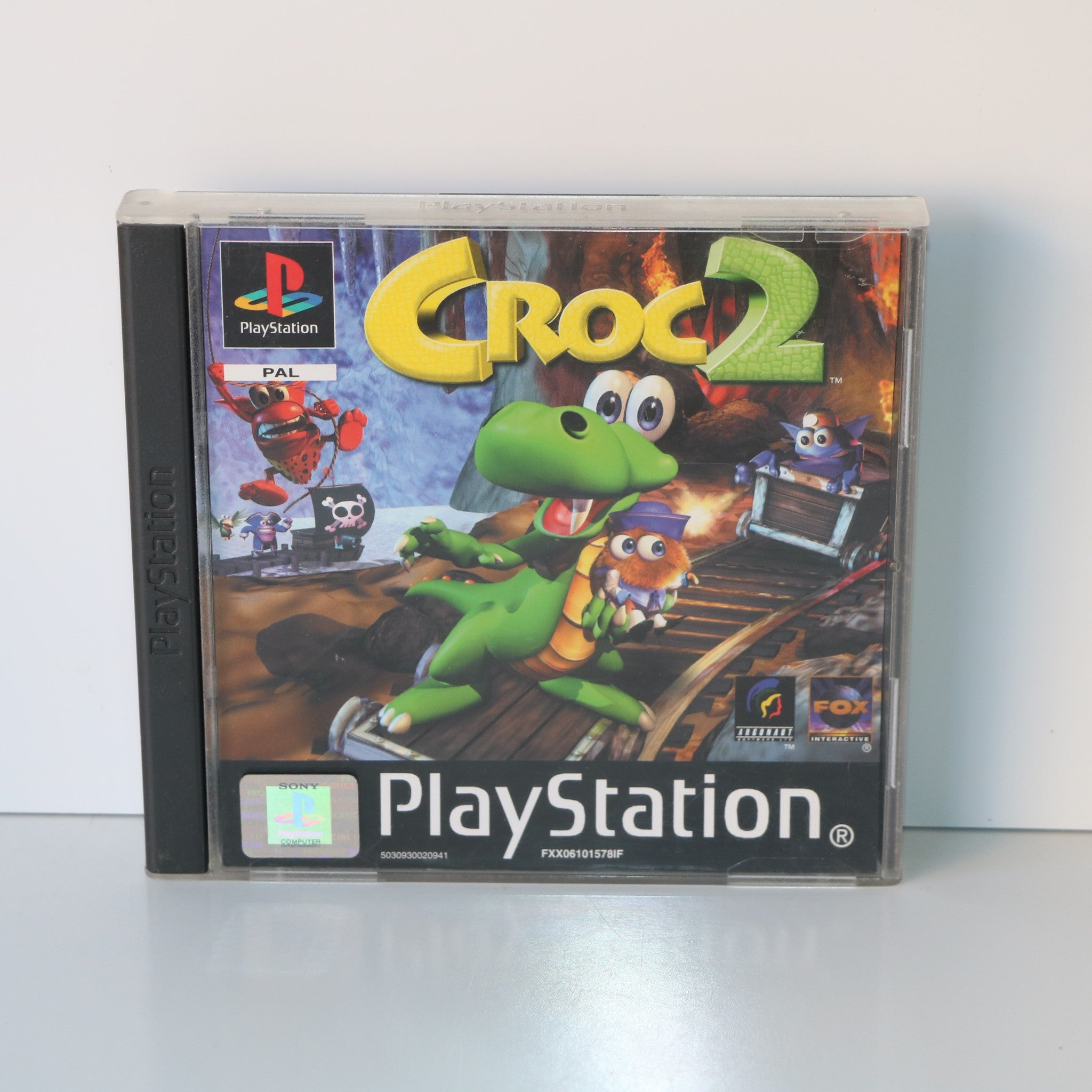 Croc 2 Legend Of The Gobbos - Sony PlayStation PSOne PS1 Game