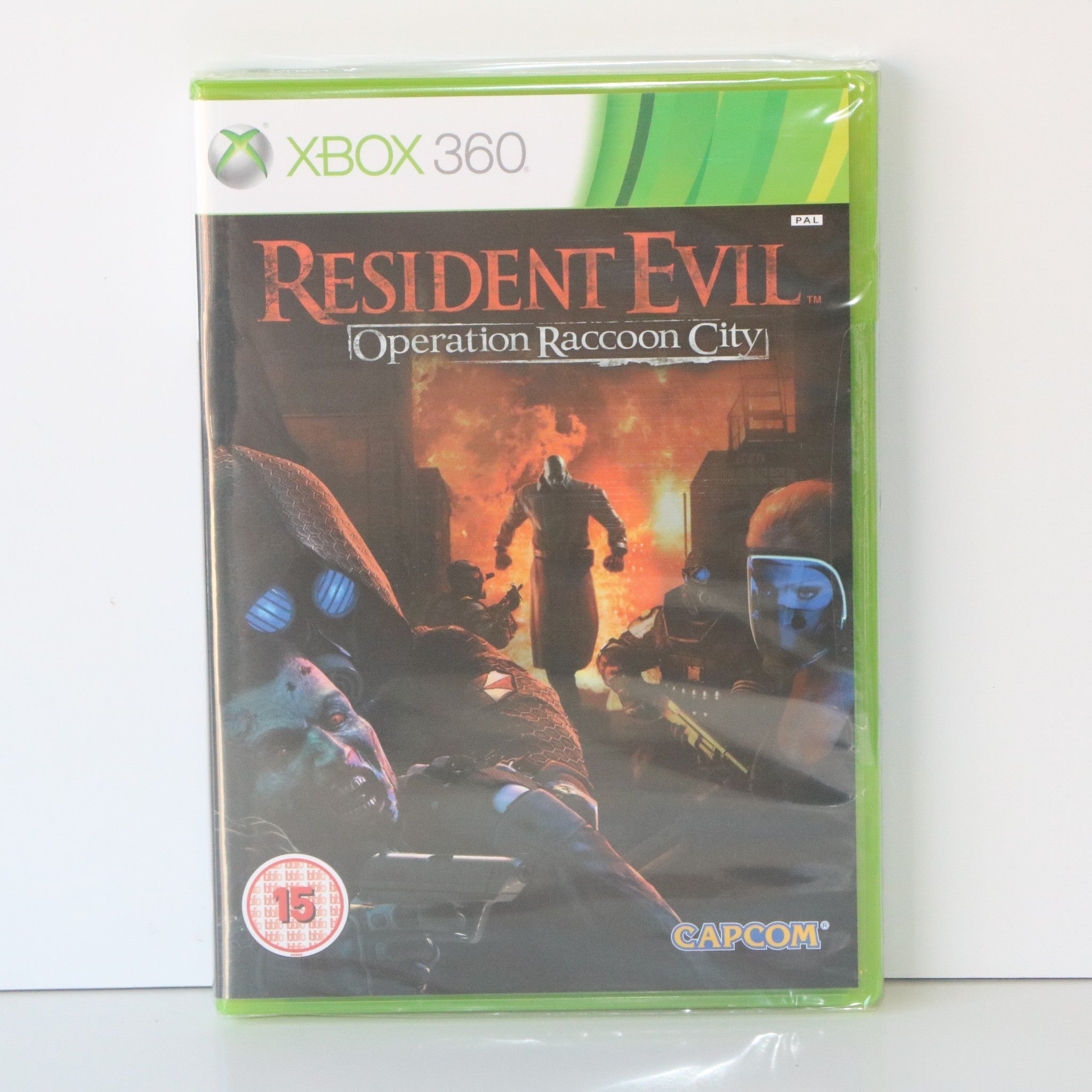Resident Evil Operation Raccoon City - Capcom - Microsoft Xbox 360 Game - New