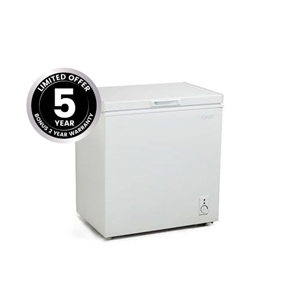 ChiQ CCF142W 142L Chest Freezer