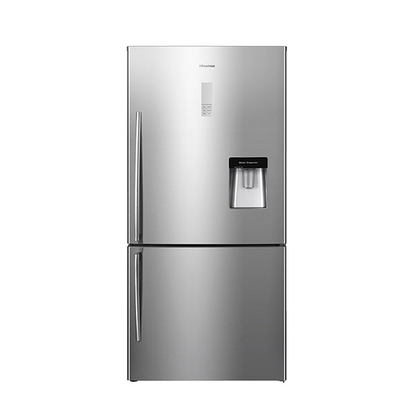 Hisense HR6BMFF514SW 514L Bottom Mount Fridge
