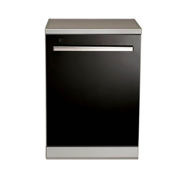 Euromaid EDWB14G 60CM BLACK GLASS DISHWASHER
