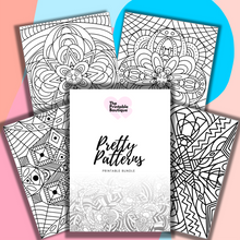 Load image into Gallery viewer, Pretty Patterns Bundle - 28 Printables