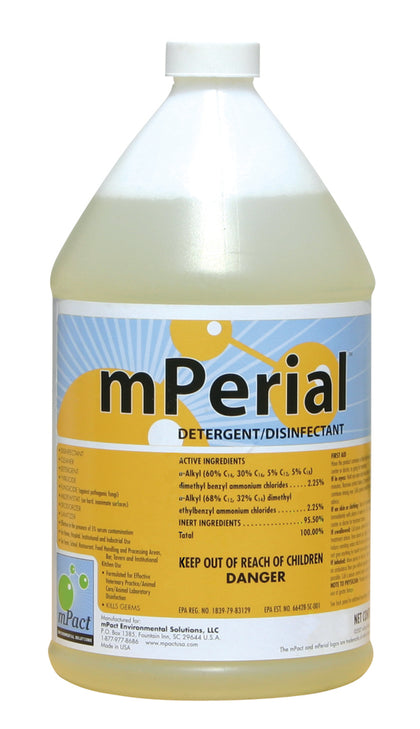 mPerial™ Cleaning Agent Concentrate - case makes 256 Gallons of Cleaner