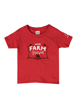 MASSEY FERGUSON TODDLER T-SHIRT (03015RED)