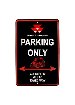 MF PARKING ONLY SIGN (03950S)