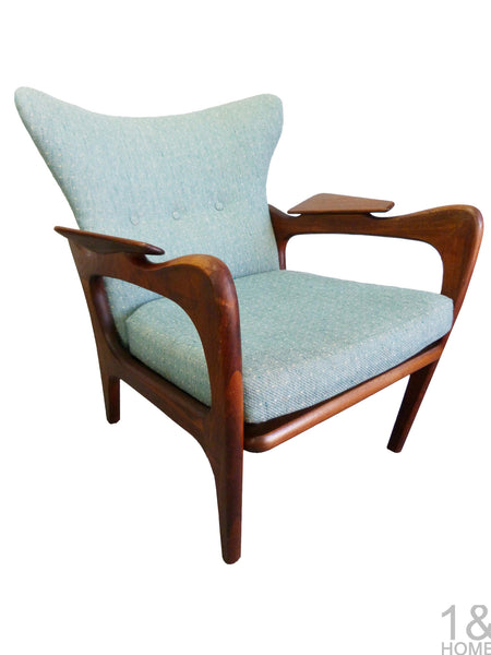Adrian Pearsall Craft Associates 2291-C lounge chair Img 1