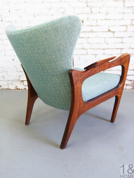 Adrian Pearsall Craft Associates 2291-C lounge chair Img 4