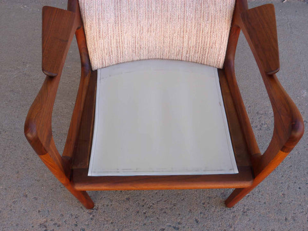 Adrian Pearsall 2291-C Craft Associates Wing Back Lounge Chair 11