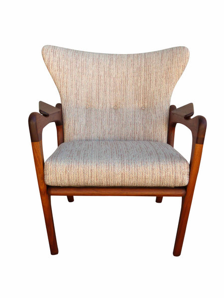 Adrian Pearsall 2291-C Craft Associates Wing Back Lounge Chair 2