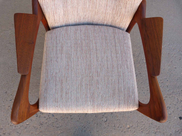 Adrian Pearsall 2291-C Craft Associates Wing Back Lounge Chair 4