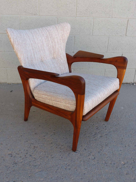 Adrian Pearsall 2291-C Craft Associates Wing Back Lounge Chair 5